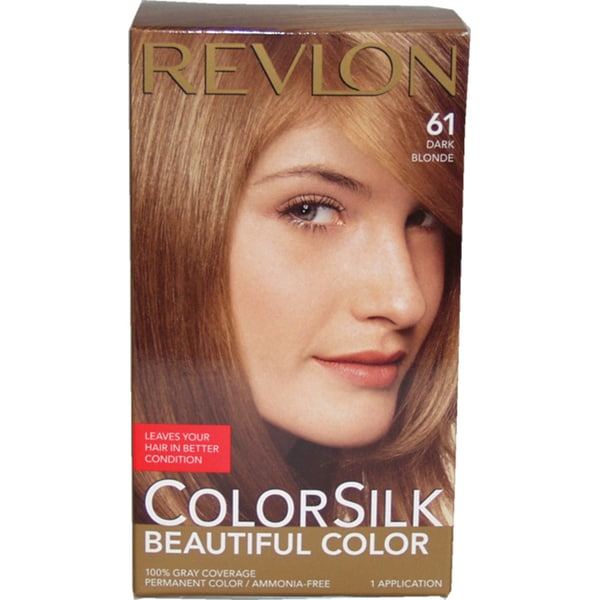 Revlon Colorsilk Beautiful Color 61 Dark Blonde Hair Color Free