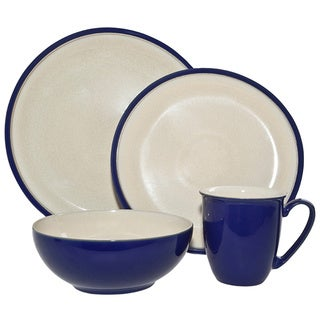 Denby 'Dine' 4-piece Royal Blue Place Setting