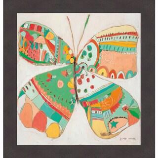 Jennifer Mercede 'Sweet Cream Fly' Framed Print