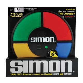 Simon Electronic Game|https://ak1.ostkcdn.com/images/products/8624623/P15890247.jpg?impolicy=medium