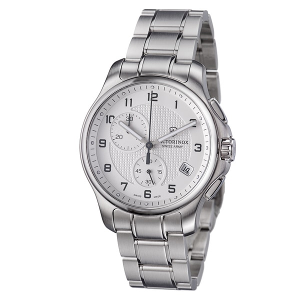 Shop Victorinox Swiss Army Men S 241554 Officers Silver