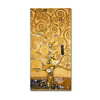 Gustav Klimt 'Tree of Life (Soclet Frieze) 1905' Canvas Art