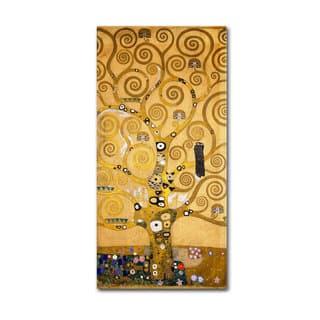 Gustav Klimt 'Tree of Life (Soclet Frieze) 1905' Canvas Art