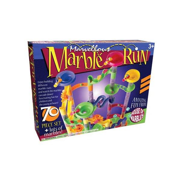 Marvellous Marble Run 70-piece Set