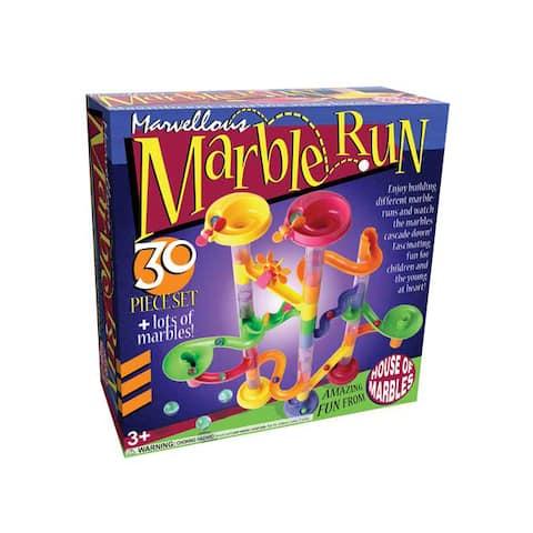 Marvellous Marble Run 30-piece Set
