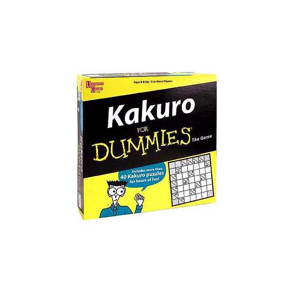 Kakuro for Dummies The Game
