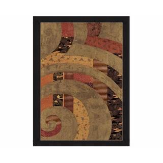 Rebecca Koury 'Spiral II' Framed Print