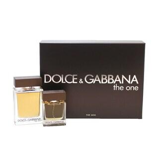Dolce & Gabbana The One Men's 2-piece Gift Set
