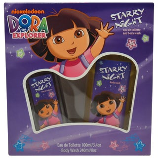 Nickelodeon Dora The Explorer Starry Night 2-piece Fragrance Gift Set