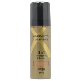 Max Factor Ageless Elixir Sand 2-in-1 Foundation + Serum