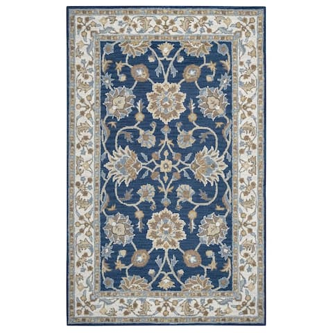 Crypt Collection Hand-tufted Wool Accent Rug (8' x 10') - 8' x 10'