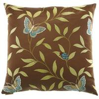 Papillon Decorative Down Fill Throw Pillow
