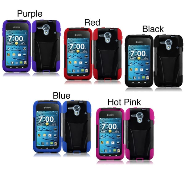 INSTEN Phone Case Cover with Stand for Kyocera Hydro Edge C5215 - Free ...