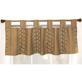 Flemming Stripe Tab Top Valance