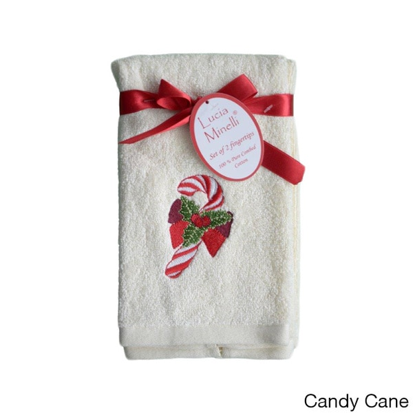 Embroidered Holiday Tip Towels Set Of 4 Free Shipping On Orders Over 45 Overstock 15890683