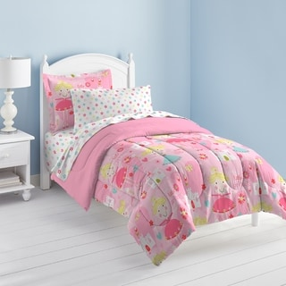 Dream Factory Pretty Princess 7-piece Bed in a Bag with Sheet Set