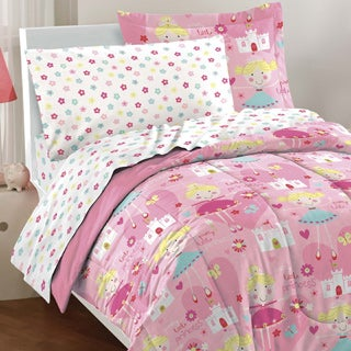 dream factory pretty princess 7piece bed in a bag with sheet set