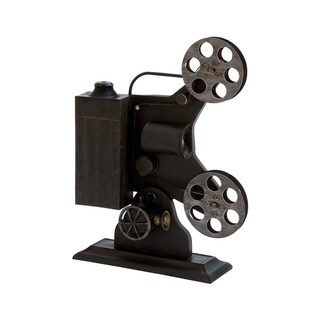 Carbon Loft Kelloogg Metal Film Projector Table Decor