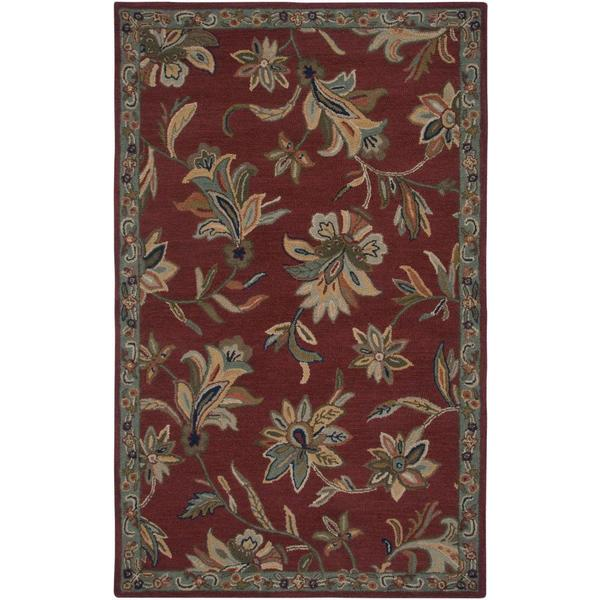 Rizzy Home Ashlyn Collection Hand-tufted Wool Accent Rug (8' x 10') - 8' x 10'