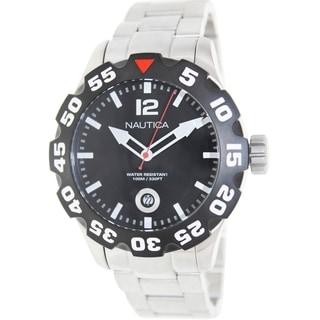 Nautica Men's Stainless Steel Quartz Watch