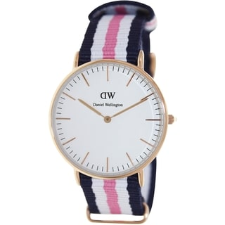 Daniel Wellington Women's Southampton Two-Tone Nylon Quartz Watch