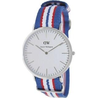Daniel Wellington Men's Belfast Two-Tone Nylon Quartz Watch