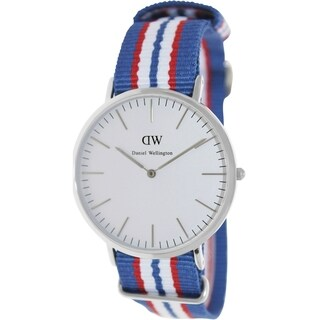Daniel Wellington Men's Belfast Two-Tone Nylon Quartz Watch