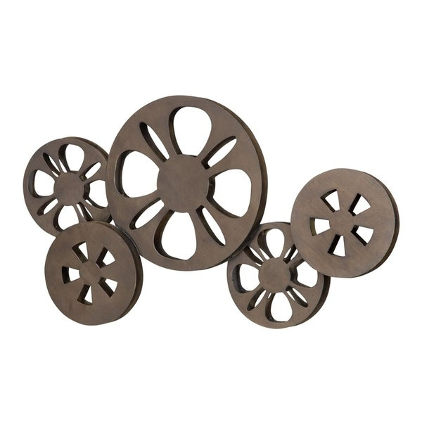 Studio 350 Metal Movie Reel 23 inches wide, 12 inches high
