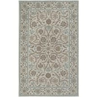 Rizzy Home Ashlyn Collection Hand-tufted Wool Accent Rug - 8' x 10'