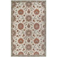 Rizzy Home Ashlyn Hand-tufted Beige Wool Blend Area Rug - 3' x 5'