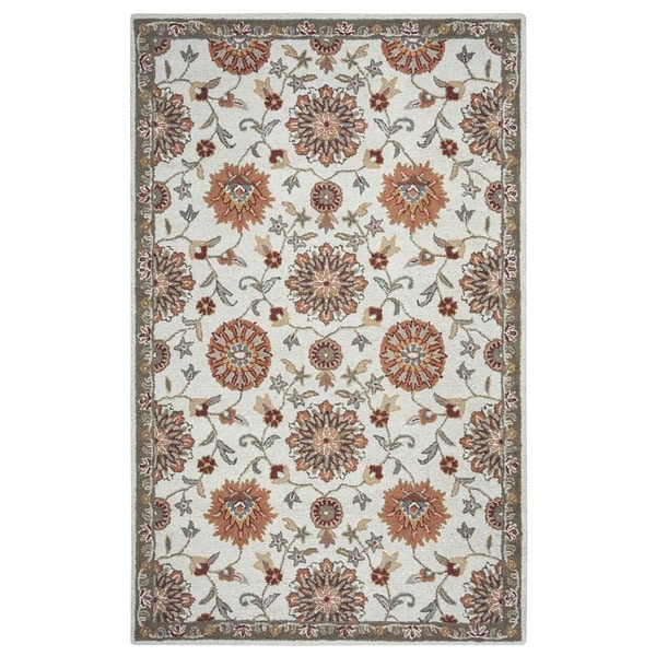 Rizzy Home Ashlyn Collection Hand-tufted Wool Accent Rug (9' x 12') - 9' x 12'