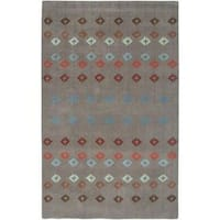 Rizzy Home Anna Redmond Collection Hand-tufted Wool Accent Rug - 9' x 12'