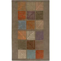 Rizzy Home Anna Redmond Collection Hand-tufted Wool Accent Rug - 5' x 8'