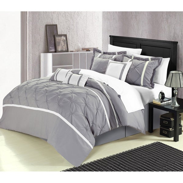Chic Home Vermont 8-piece Comforter Set. Opens flyout.
