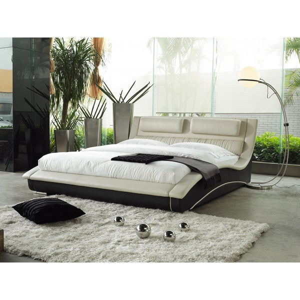 Shop Napoli Modern Platform Bed Free Shipping Today Overstock
