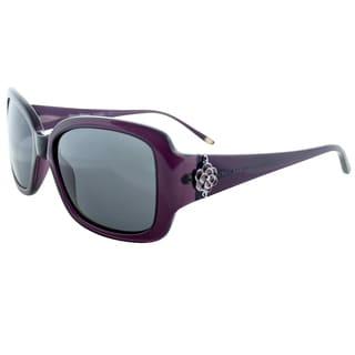 Tommy Bahama 'TB7019 500' Purple/ Grey Polarized Sunglasses