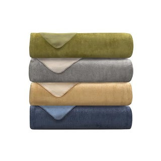 Lacozee Cashmere Touch Cotton-blend Reversible Blanket