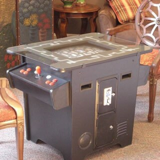 Classic Arcade Cocktail Style Dual Player Game Table with 60 Games Built-in