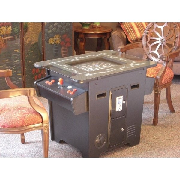 Shop Classic Arcade Cocktail Style Dual Player Game Table