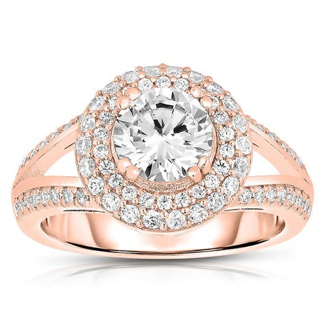 Collette Z Sterling Silver Cubic Zirconia Ring