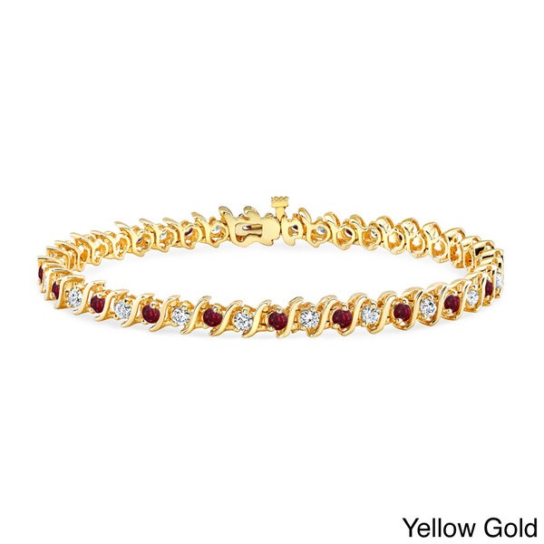 14k Diamond Tennis Bracelet Adjustable 2ct Rose Gold Finish Anniversary Gift