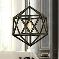 Diamond Cage 1-light Edison Lamp with Bulb