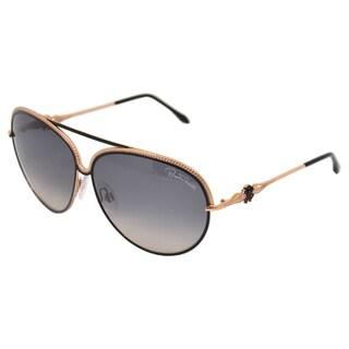 Roberto Cavalli Women's RC721S Tureia 33B - Gold/Black/Grey Azure 62-11-140 mm Sunglasses
