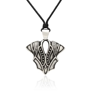 Gravity Metal Knight Armor Pendant Necklace