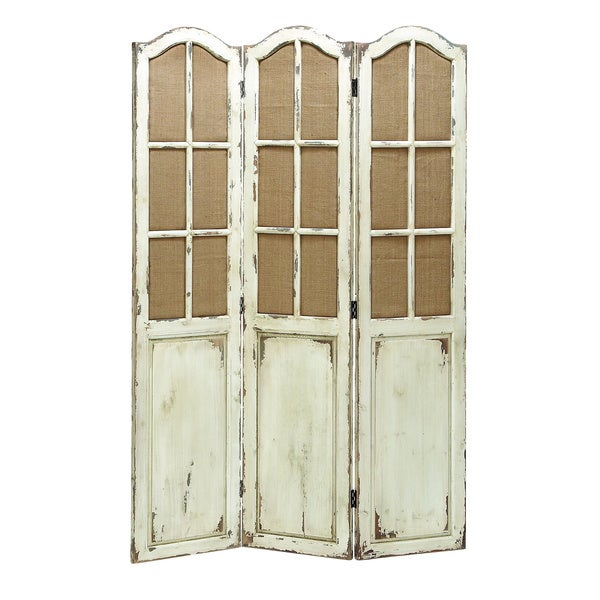 Folding panel wood screen free shipping today