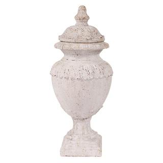 Oversized Rustic Ceramic Urn