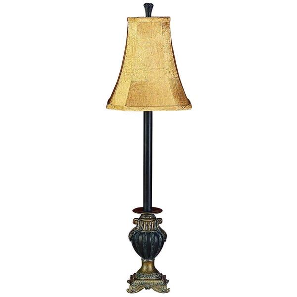 Brown Buffet Lamp