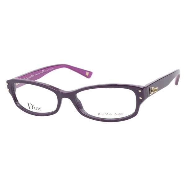 63473778fd Shop Christian Dior CD3201 Q32 Dark Violet Prescription Eyeglasses ...
