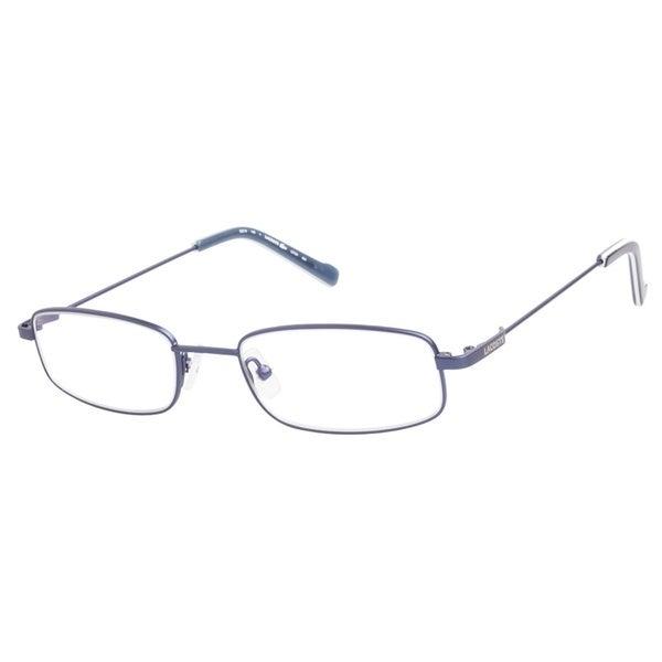 ff5ff8795d21 Shop Lacoste L2124 424 Satin Blue Prescription Eyeglasses - Free ...