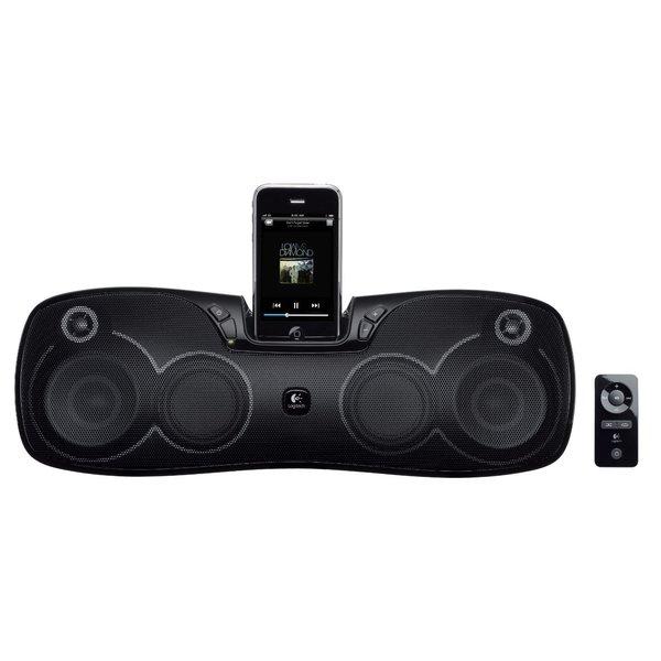 Logitech Rechargeable Speaker S715i Black (Manufacturer Refurbished)